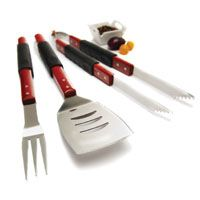 GrillPro 40110 Tool Set, Stainless Steel, 3
