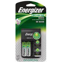 Energizer CHVCWB2 Battery Charger, Nickel-Metal Hydride Battery, 120 V Input