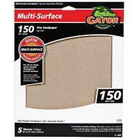 Gator 4442 Sanding Sheet, 150-Grit, Fine, Aluminum Oxide