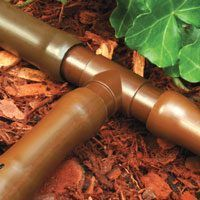 Rain Bird BT50/4PK Non-Threaded Drip Irrigation Tee, 1/2 in Barb, 0 to 50 psi, Plastic
