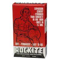 Rockite 10005 Expansion Cement, White, 5 lb Box