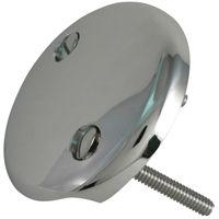 Plumb Pak PP826-11 Overflow Tub Face Plate, Chrome, For Bath Drains