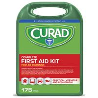 CURAD CURFAK300RB Latex-Free Complete First Aid Kit