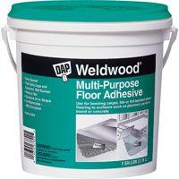 DAP Weldwood 00142 Floor Adhesive, 1 gal Pail