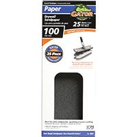 Gator 3311 Sanding Sheet, 100-Grit, Medium, Silicone Carbide
