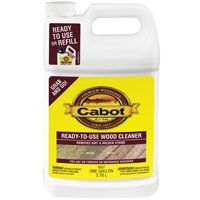 Cabot Problem-Solver 8007 Ready-to-Use Wood Cleaner, 1.33 gal Can