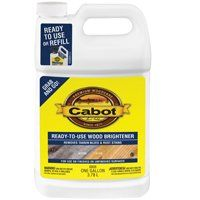 Cabot Problem-Solver 8008 Wood Brightener, 1 gal