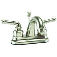 Boston Harbor Non-Metallic Lavatory Faucet, 1.2 Gpm At 60 Psi, 4 In Center Distance, 2 Handle, 6.5 In L