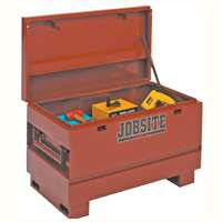 DELTA JOBSITE 637990 Heavy-Duty Contractor Chest, 15.4 cu-ft Storage, Steel, Brown