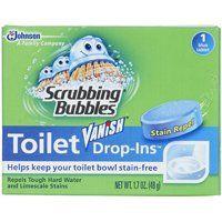 Scrubbing Bubbles DROP-INS 00191 Toilet Bowl Cleaner, 1.7 oz Pack