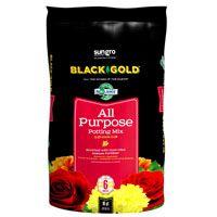 sun gro BLACK GOLD 1410102 16.0 QT P Potting Mix, Brown/Earthy, Granular Grain, 120 Bag