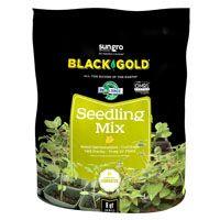sun gro BLACK GOLD 1411002 8 QT P Seedling Mix, 8 qt Bag