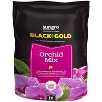sun gro BLACK GOLD 1411402 8 QT P Orchid Mix, Brown/Earthy, Granular Grain, 240 Bag