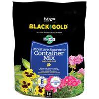 sun gro BLACK GOLD 1413000Q08P Container Potting Mix, 240 Bag