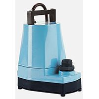 Little Giant 505005 Submersible Utility Pump, 115 V, 1 in Outlet, 1200 gph