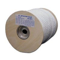 T.W. Evans Cordage 85-060 Rope, 280 lb Working Load Limit, 600 ft L, 5/16 in Dia, Nylon