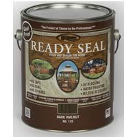 Ready Seal 125 Stain and Sealer, Dark Walnut, 1 gal Can