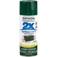 RUST-OLEUM PAINTER'S Touch 249111 General-Purpose Gloss Spray Paint, Gloss, Hunter Green, 12 oz Aerosol Can