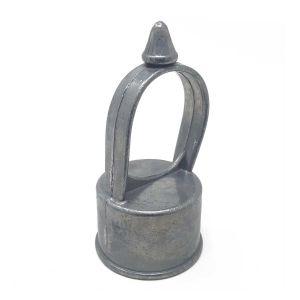 "Aluminum Loop Cap, 2"" x 1-3/8"""