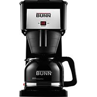 BUNN GRXB Multi-Cup Coffee Maker, 50 oz Capacity, 120 V, 900 W, Black