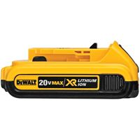 DeWALT DCB203 Rechargeable Battery Pack, 20 V, 2 Ah