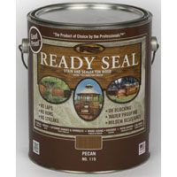 Ready Seal 115 Stain and Sealer, Pecan, 1 gal Can