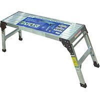 Speedway 53502 Platform Ladder, 225 lb Weight Capacity, Aluminum