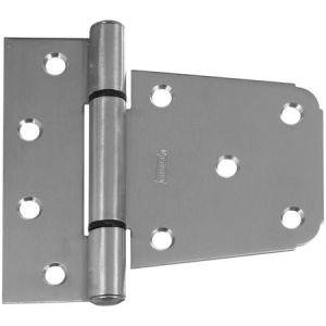National Hardware N342-543 Gate Hinge, Narrow Mounting, Stainless Steel