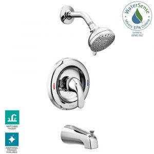 TUB-SHOWER FAUCET SNGL CHROME