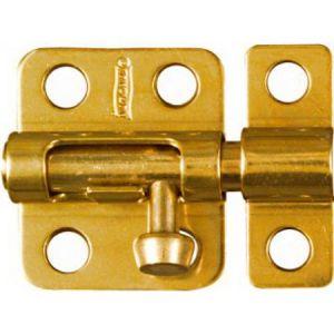 National Hardware N213-405 Barrel Bolt, 2 in L, Brass