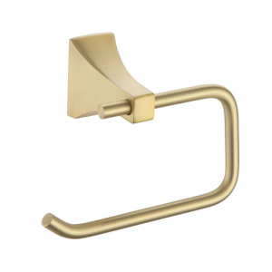 Laurey Paradise Bathworks Shangri-La Toilet Paper Holder - Satin Brass