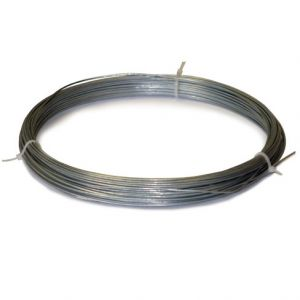 soft galv wire 2lbs roll