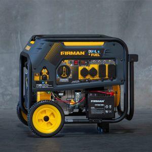 5700 Watt Generator Dual Fuel