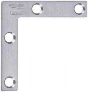 National Hardware V417 Series N348-342 Corner Brace, Stainless Steel