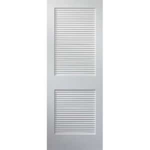 Plantation Louver Door Primed