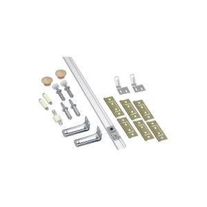 National Hardware N343-723 Folding Door Hardware Set, Steel, For Bi-Fold Doors