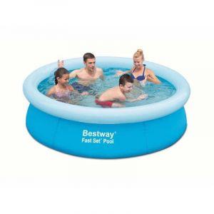 "Bestway Pool 8'x26"" Blue PVC and ABS"